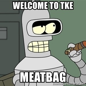 Typical Bender - Welcome to tke Meatbag