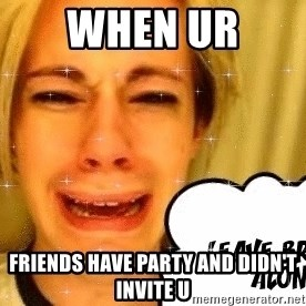 leave britney alone - when ur  friends have party and didn't invite u