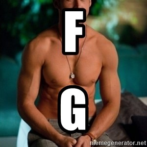 Shirtless Ryan Gosling - F G