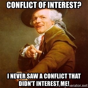 Joseph Ducreux - Conflict of Interest? I never saw a conflict that didn't interest me!