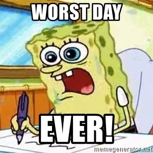 Spongebob What I Learned In Boating School Is - Worst Day Ever!