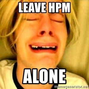 Leave Brittney Alone - Leave HPM ALONE