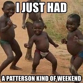 african children dancing - I just had a patterson kind of weekend