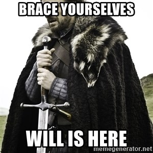 Sean Bean Game Of Thrones - Brace yourselves will is here
