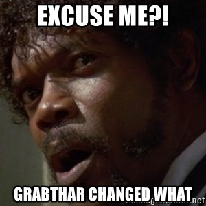 Angry Samuel L Jackson - EXCUSE ME?! Grabthar Changed What