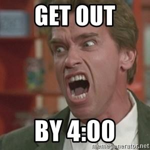 Arnold - Get Out By 4:00