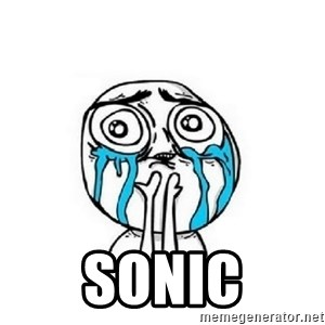 Crying face - SONIC
