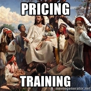 storytime jesus - Pricing training