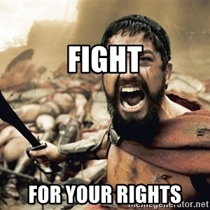 Spartan300 - Fight for your rights