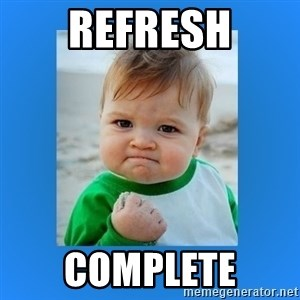 yes baby 2 - Refresh Complete