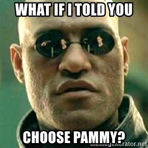 what if i told you matri - what if i told you choose Pammy?