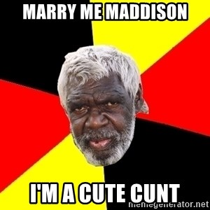 Abo - Marry me Maddison I'm a cute cunt