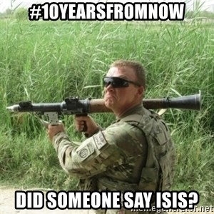 Awkward Army - #10yearsfromnow did someone say isis?