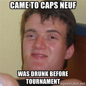 Stoner Stanley - Came To caps Neuf Was drunk before tournament