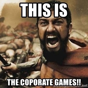 300 - this is the coporate games!!