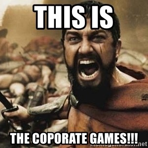 300 - this is the coporate games!!!