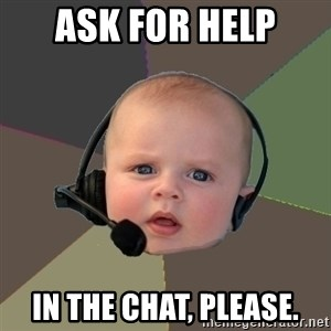 FPS N00b - Ask for help in the chat, please.