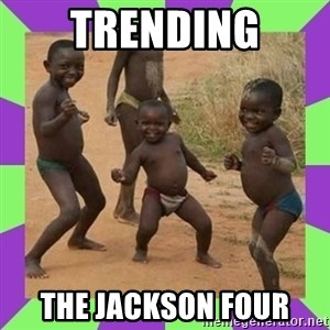 african kids dancing - Trending The Jackson Four