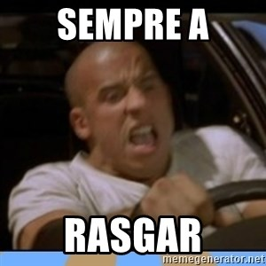 fast and furious - Sempre a rasgar