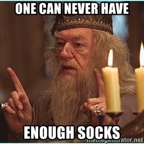 dumbledore fingers - One can never have enough socks