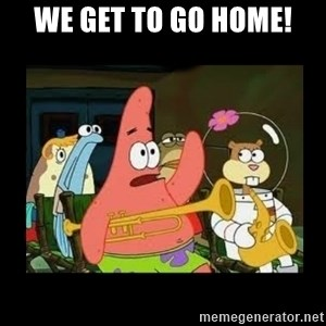 Patrick Star Instrument - We get to go home!