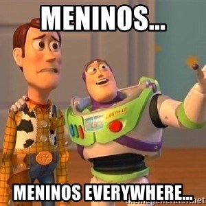 Consequences Toy Story - Meninos... Meninos everywhere...