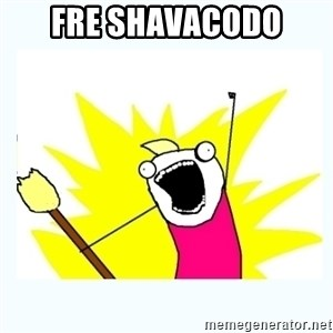 All the things - Fre shavacodo