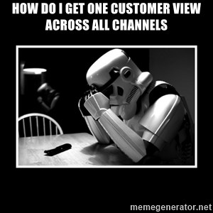 Sad Trooper - how do i get one customer view across all channels