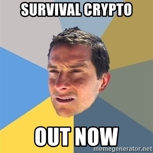Bear Grylls - survival crypto out now