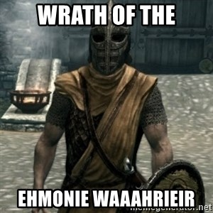 skyrim whiterun guard - Wrath Of The Ehmonie Waaahrieir