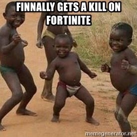african children dancing - Finnally gets a kill on Fortinite