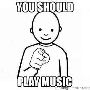 GUESS WHO YOU - you should  Play music