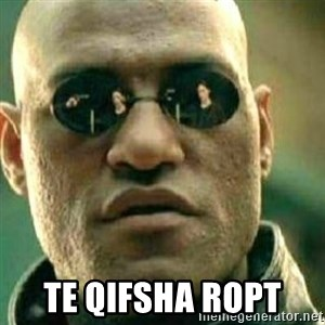 What If I Told You - TE QIFSHA ROPT
