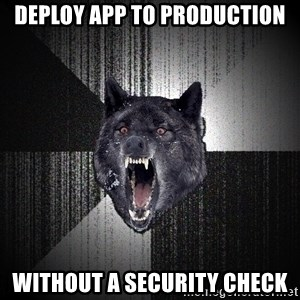 xymixihb - Deploy app to Production Without a security check