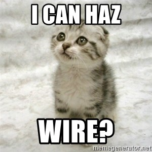 Can haz cat - I can haz wire?