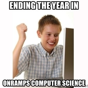 Computer kid - Ending the year in OnRamps Computer Science