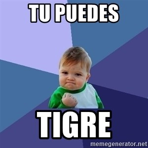 Success Kid - Tu puedes  TIGRE