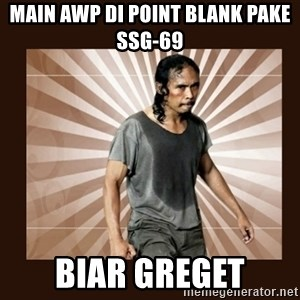 MadDog (The Raid) - Main AWP di Point Blank pake SSG-69 Biar Greget