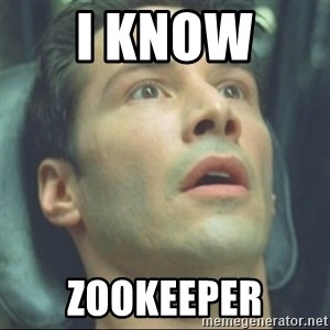 i know kung fu - I know  zookeeper