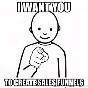 GUESS WHO YOU - I Want You to create sales funnels