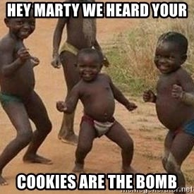 african children dancing - Hey Marty we heard your  Cookies are the bomb