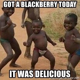 african children dancing - Got a blackberry today  It was delicious