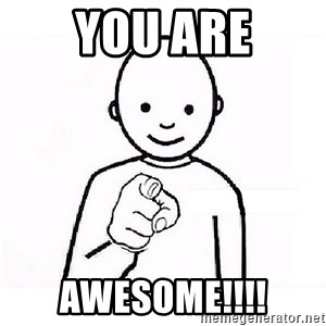GUESS WHO YOU - You are AWESOME!!!!