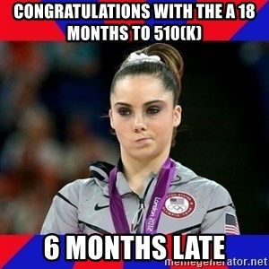 Mckayla Maroney Does Not Approve - Congratulations with the a 18 months to 510(k) 6 months late