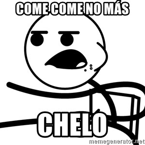 Cereal Guy - Come come no más  Chelo