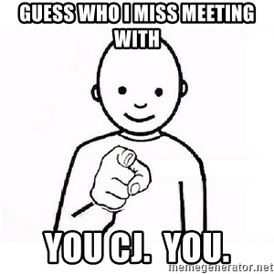 GUESS WHO YOU - Guess who i miss meeting with You CJ.  You.