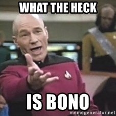 Picard Wtf - What the heck is bono