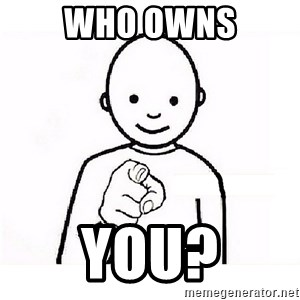 GUESS WHO YOU - Who Owns YOU?