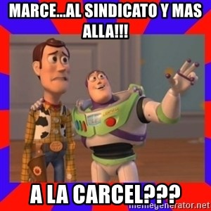 Everywhere - Marce...al sindicato y mas alla!!! A la carcel???