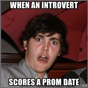 Shocked Dylan - When an introvert scores a prom date